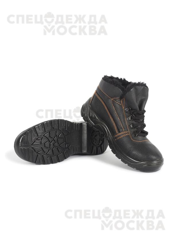 Ботинки ОНИКС кожаные (искусственный мех) ПУ
