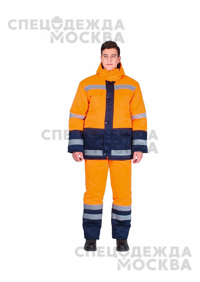 Костюм зимний Дорожник комбинированный (брюки)