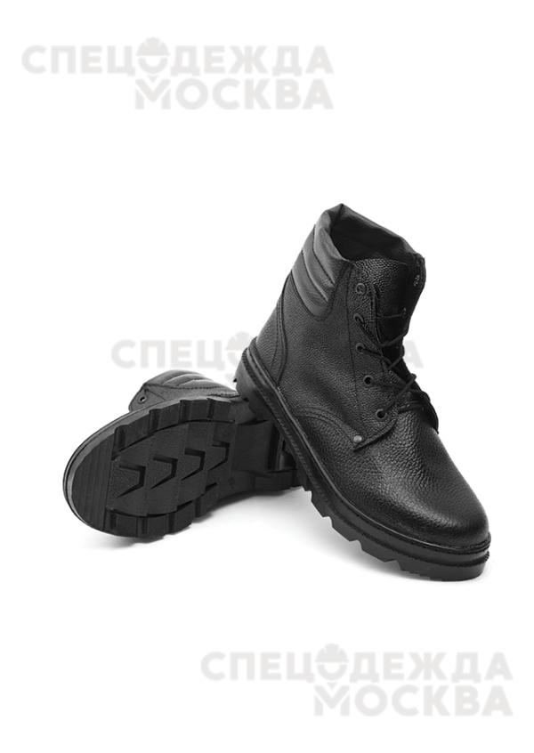 Ботинки ю/кирза бортопрошивные (искусственный мех)