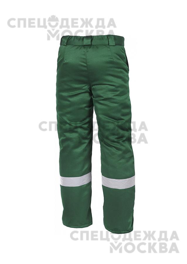 Брюки зимние ЭКСПЕРТ-ЛЮКС (зеленый)
