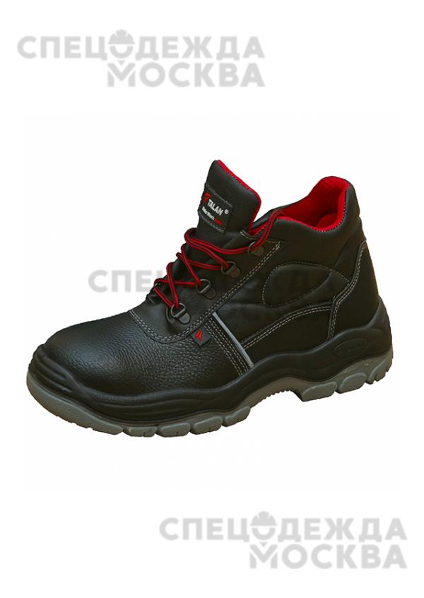 Ботинки Лидер МН (металлическая стелька) ПУ/ТПУ Talan, черный