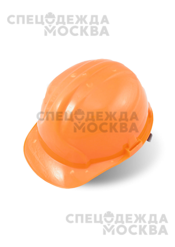 Каска строительная, оранжевый