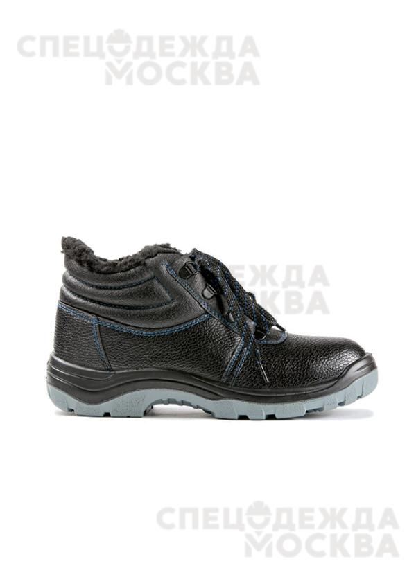 Ботинки юфтевые (искусственный мех) КП ПУ/ПУ ЭлитСпецОбувь