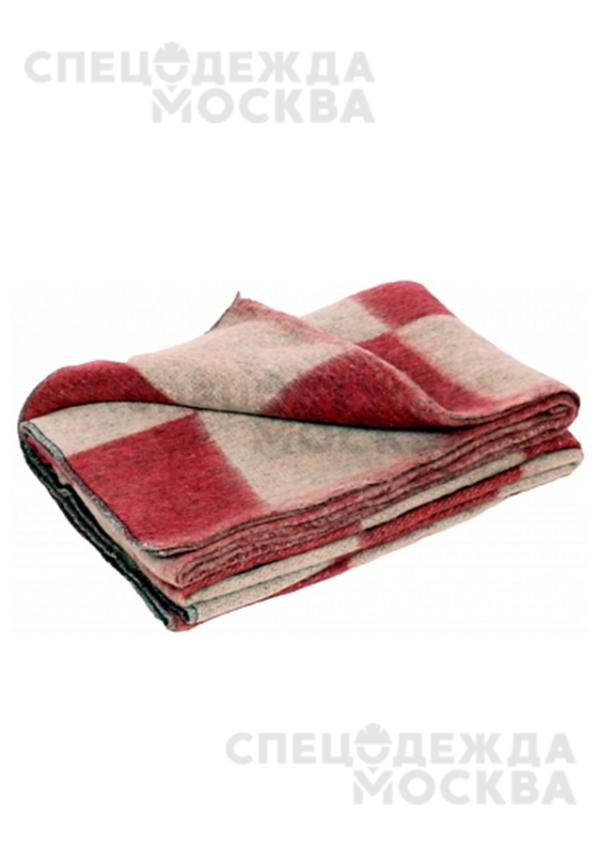 Одеяло 1,5сп п/ш (70% шерсть) Шуя клетка